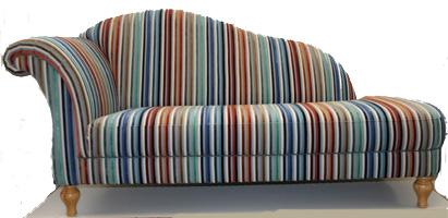 Sofa in stof van Lelievre